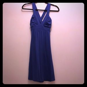 Royal blue Susana Monaco crisscross back sundress